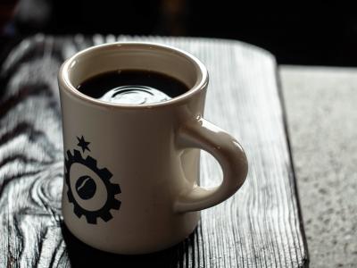 Back of the Yards Coffee in Logo Mug
