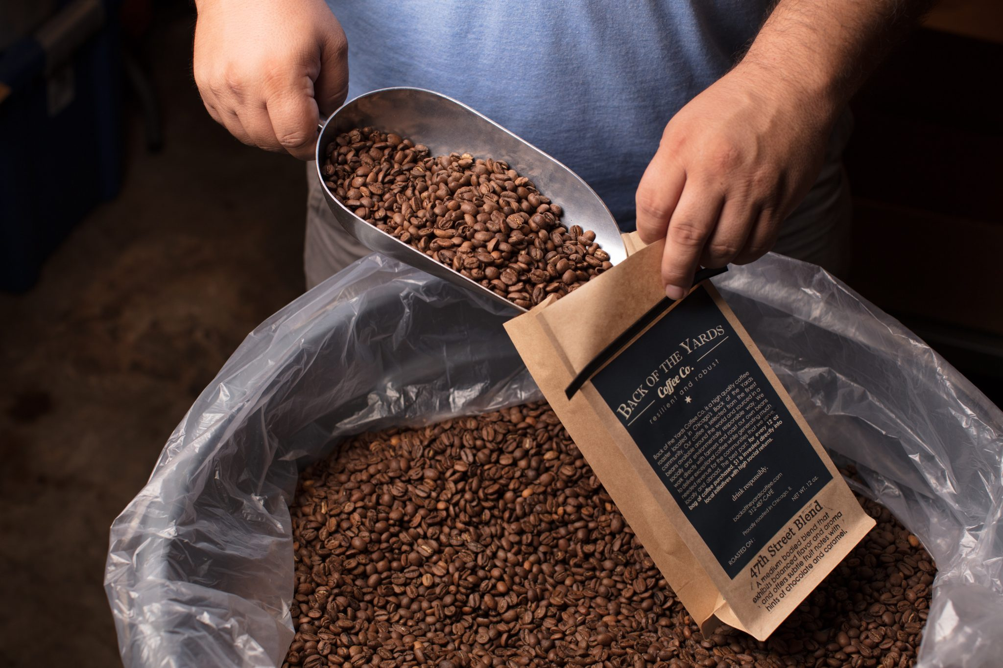 Back of The Yards - whole bean coffee
