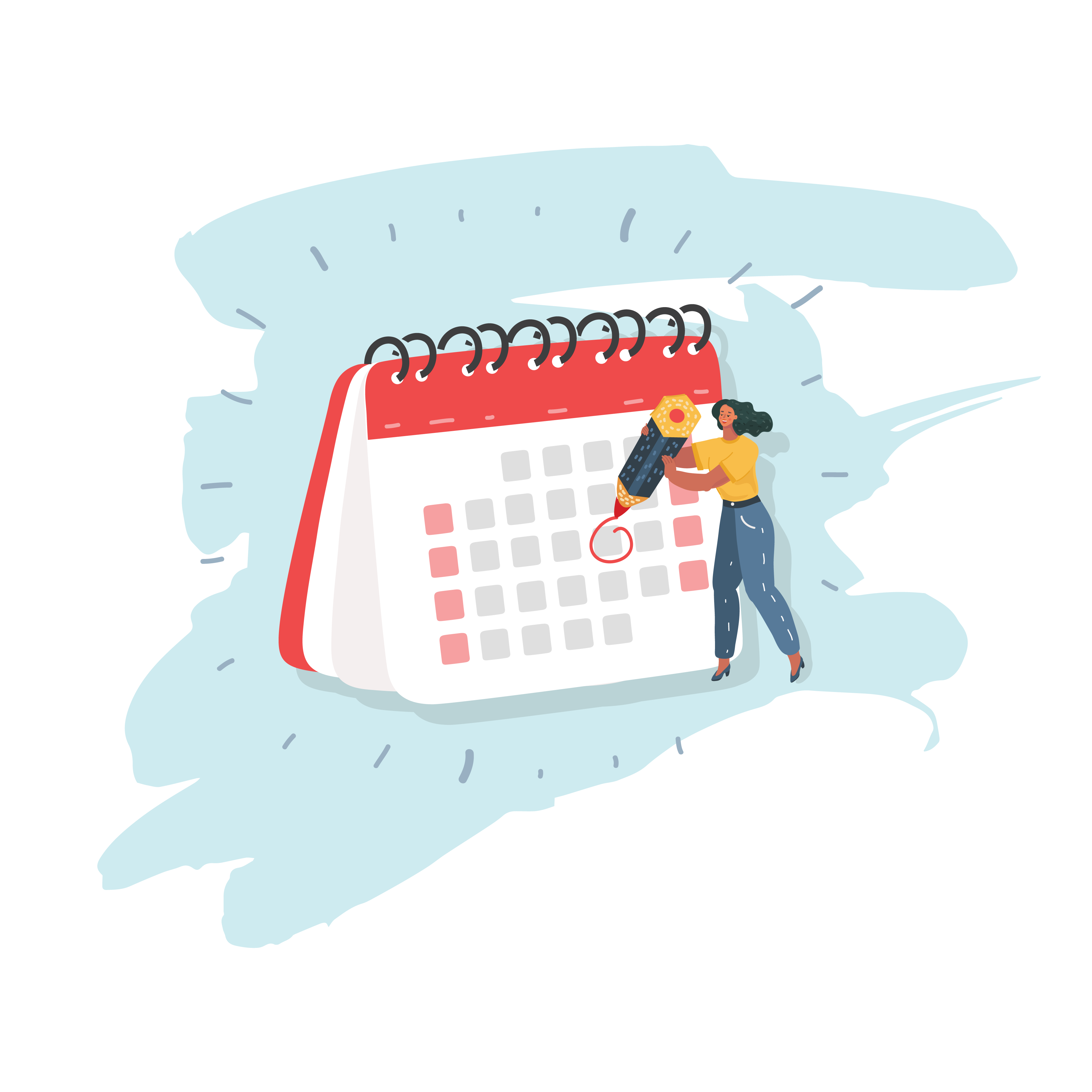 Coffee Club Subscriptions - calendar